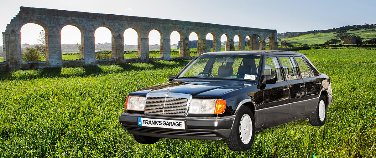 The only Mercedes Benz with six doors in Malta and Gozo. & MERCEDES BENZ LIMO 7 SEATER | Frank\u0027s Garage