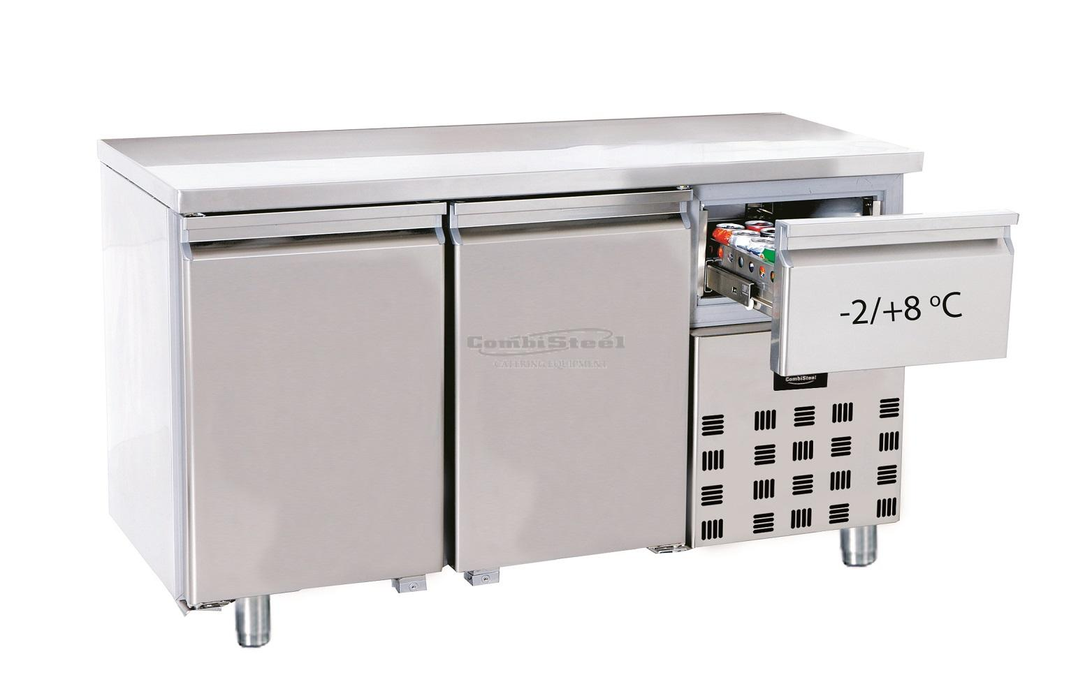 700 REFRIGERATED COUNTER 2 DOORS - 7489.5160 | Spiteri Catering