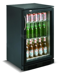 BACKBAR COOLER BLACK 1 DOOR - 7455.1300