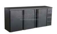 BARCOOLER BLACK 3 DOORS - 7450.0320