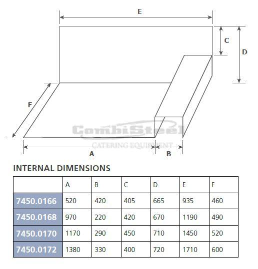 CHEST FREEZER SS COVER - 7450.0166