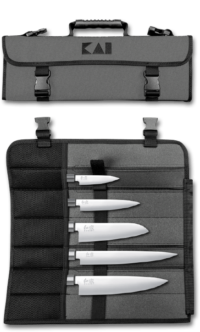 SETS - BLADE TYPES - Knife bag, furnished # DM-0781JP67 (not pictured) Content: Utility knife 6710P, Deba 6715D, Nakiri 6716N, Santoku 6716S & Yanagiba 6721Y
