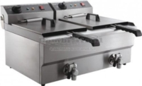 ELECTRIC COUNTER FRYER 2X10 L - 7455.1007