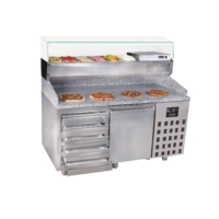 PIZZA COUNTER 1 DOOR 5 DRAWERS - 7489.5230