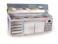 PIZZA COUNTER 2 DOORS 5 DRAWERS - 7489.5235