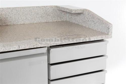 PIZZA COUNTER 2 DOORS 6 DRAWERS - 7450.0580
