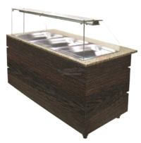 REFRIGERATED BUFFET WENGE 1570 - 7478.1105