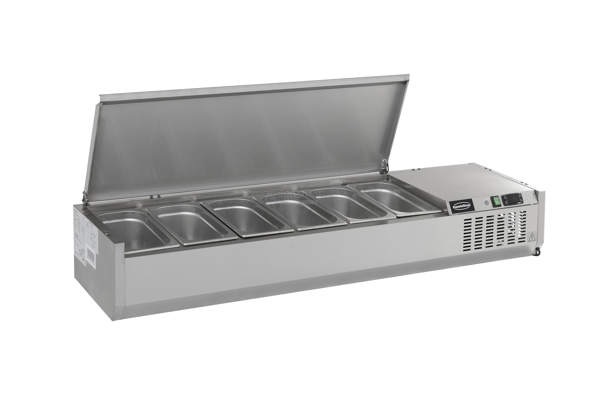 REFRIGERATED COUNTER TOP SS TOP 1/4 GN - 7450.0025 ...