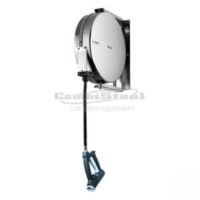RETRACTABLE HOSE REEL 10 M WITH SPRAY GUN - 7212.0050